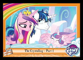 My Little Pony The Crystalling - Part 1 Series 5 Trading Card