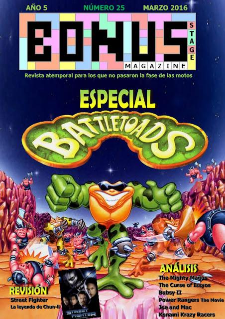 Bonus Stage Magazine #25 Especial Especial Battletoads [Revistas]