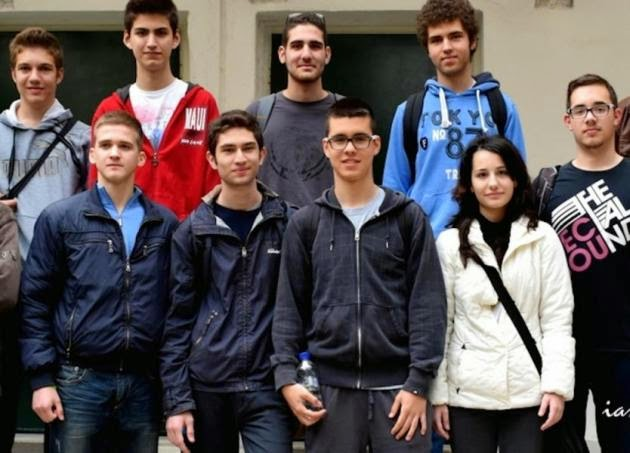 Αναχώρηση Ελληνικής Αποστολής του ΑΠΘ για τη συμμετοχή στην 8η Διεθνή Ολυμπιάδα Αστρονομίας - Αστροφυσικής