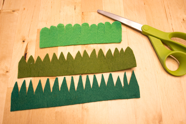 how to make tiny felt succulents with kids- super cute craft that also makes a great DIY gift