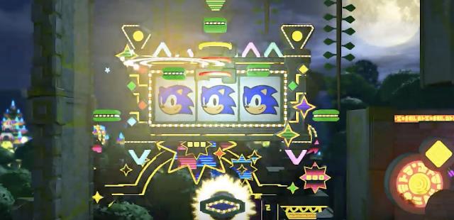 Sonic Forces presenta una zona con guiño al pasado, Casino Forest