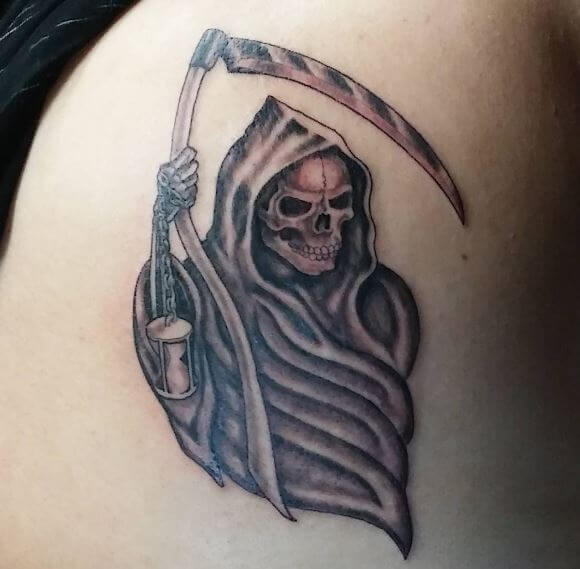 50 Cool Grim Reaper Tattoo Designs & Ideas (2018