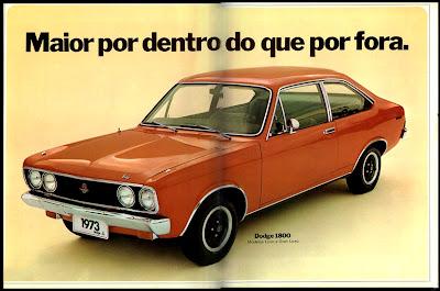 propaganda Dodge 1800 - 1973