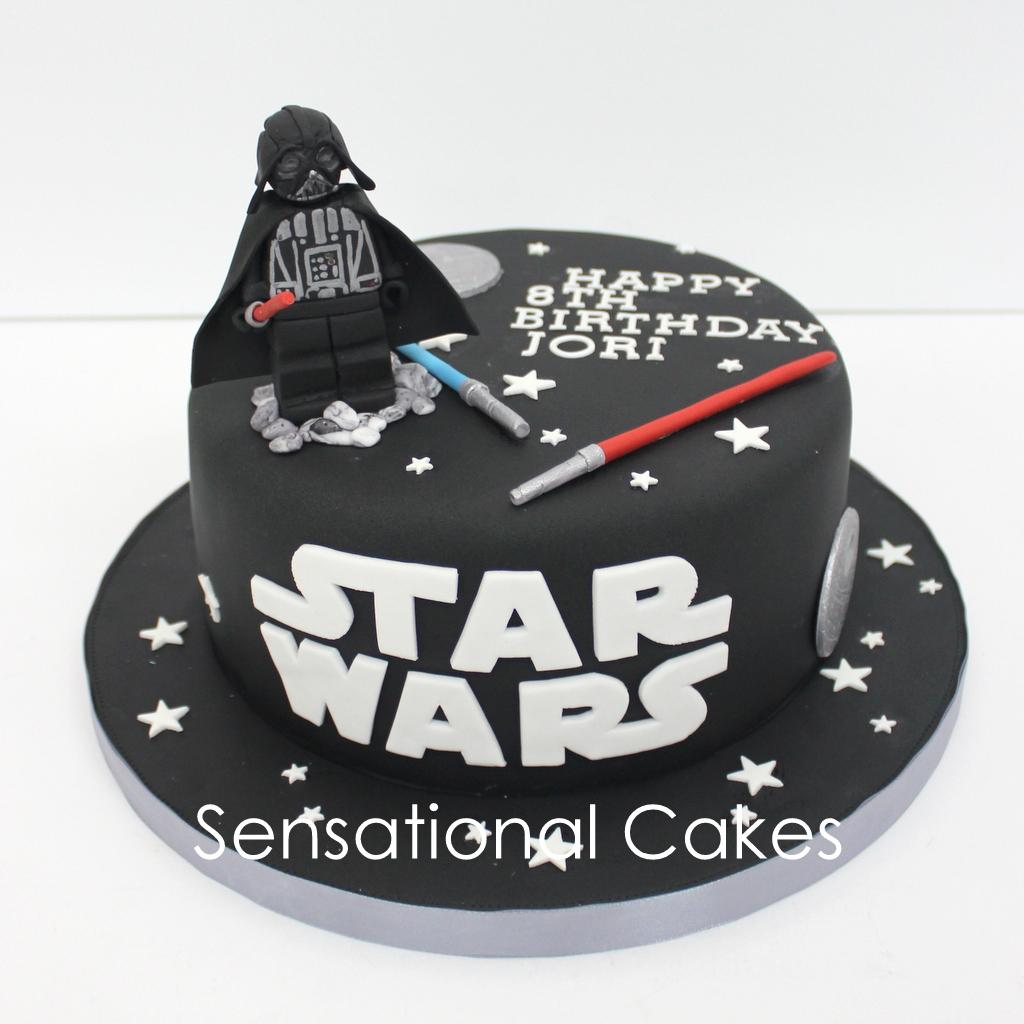 The Sensational Cakes darth vadar 3d star wars 3d cake singapore