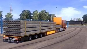 Panel transport trailer by TZ Rommi