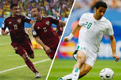 FIFA 2018 Russia Vs Saudi Arabia Live Streaming and Telecast
