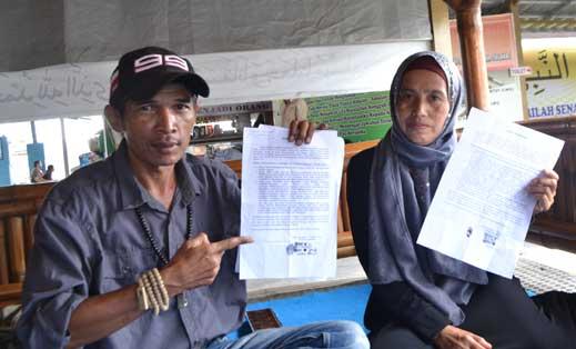 prona pembuatan sertifikat tanah diduga bermasalah