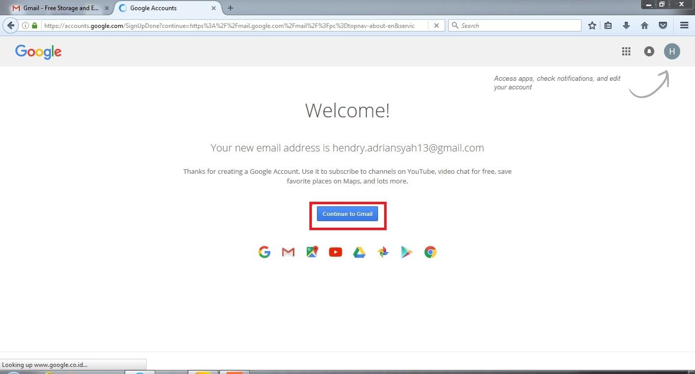 Cara Membuat Email di Gmail (Google Mail) - Bacain Aja