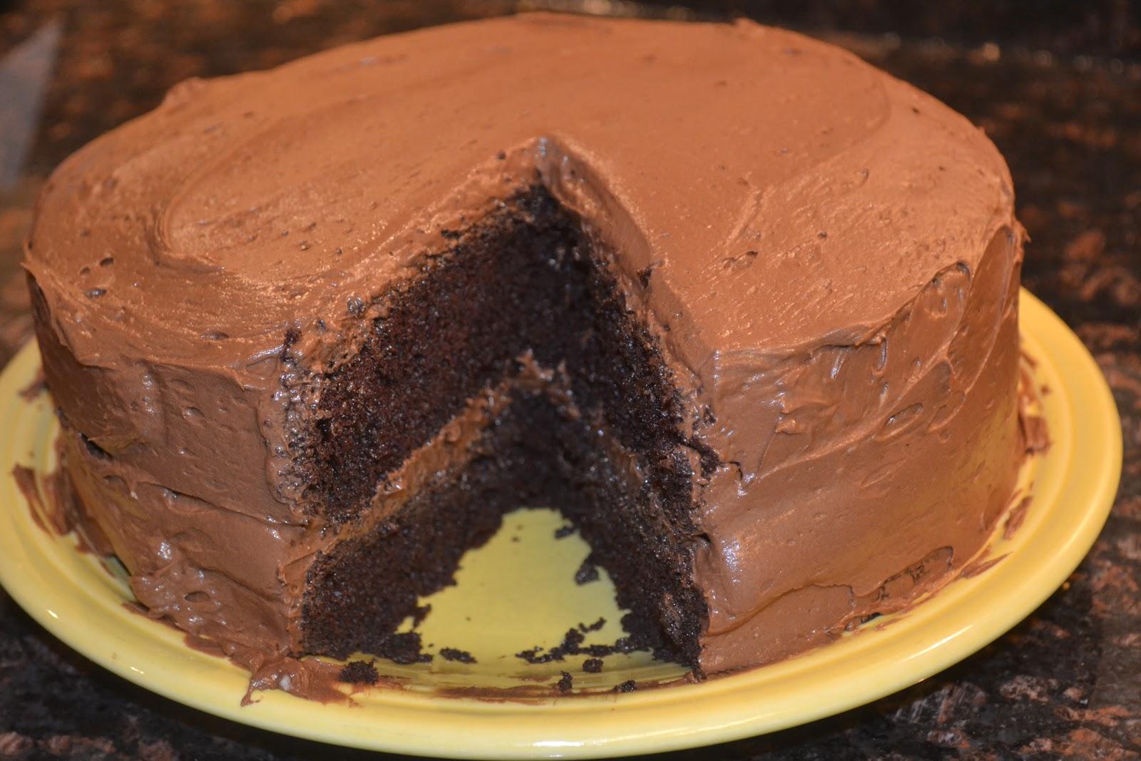 Minnesota Bread: One Bowl Chocolate Cake