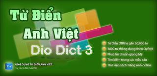 phần mềm Từ điển Dio Dict 3