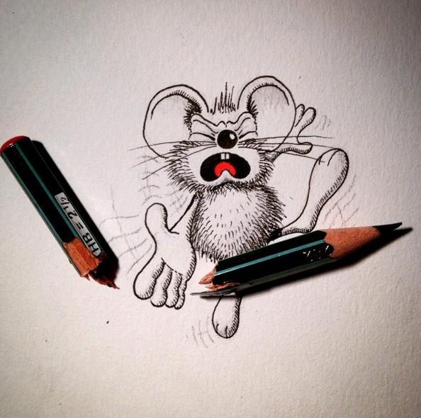 Những hình vẽ động vật đẹp dễ thương đến khó tả