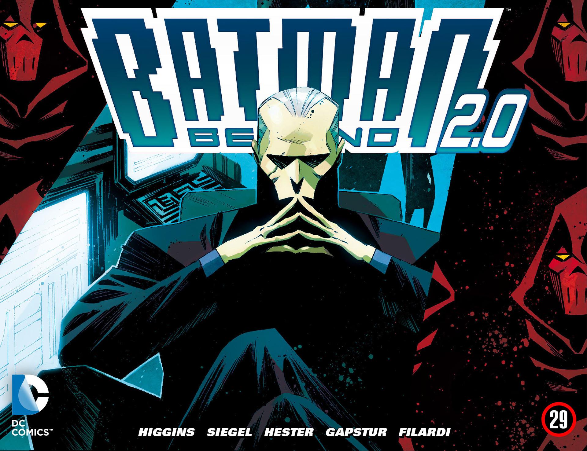 Batman Beyond 2.0 29 Page 1