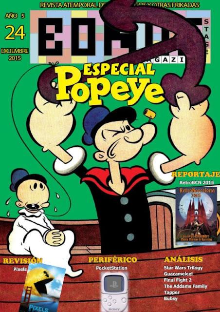Bonus Stage Magazine #24 Especial Popeye (24)