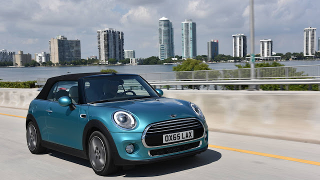 2016 Best Of Mini Convertible On Drive Review front view