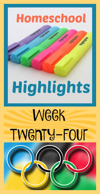 Homeschool Highlights - Week Twenty-Four on Homeschool Coffee Break @ kympossibleblog.blogspot.com