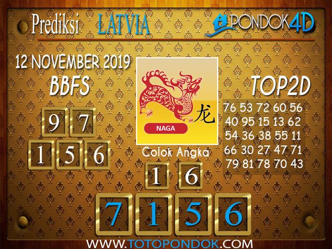 Prediksi Togel LATVIA POOLS PONDOK4D 12 NOVEMBER  2019