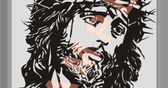 Gambar Wajah Yesus Hitam Putih Gambar Yesus