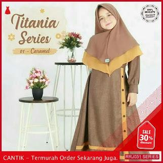 Jual RRJ031P92 Pakaian Anak Perempuan Wanita Titania Syari Kids BMGShop