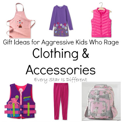 Clothing and accessory gift ideas for kids.