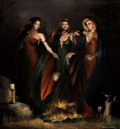 DECK THE HOLIDAY'S: DIFFERENT TYPES OF WITCHES!!