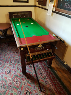 Bar Billiards at the Golden Star pub in Norwich