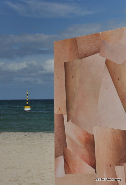 Skin Cube, by Louise Sparre, Denmark, Sculptures by the Sea, Cottesloe 2016