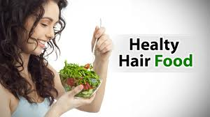 foods to eat for a healthy hair