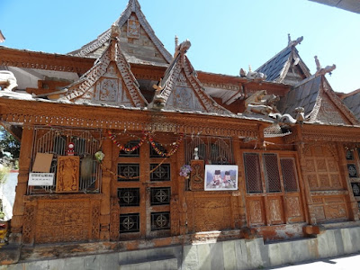 Architecturally rich temples at Chini Village