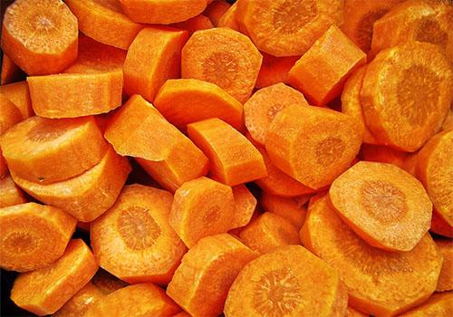 Zanahorias acarameladas