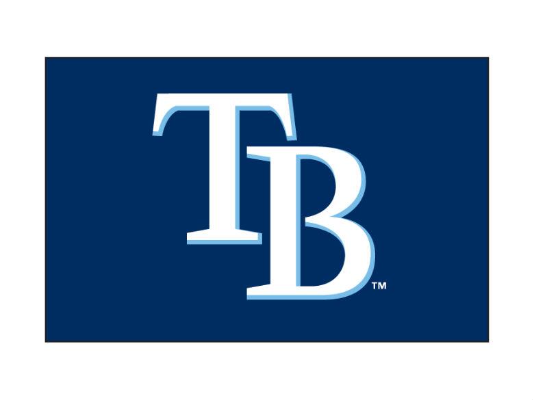 MLB Tampa Bay Rays Logo Vector