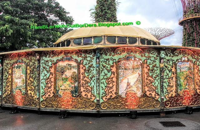 Spiegeltent, Christmas Wonderland, Gardens by the Bay, Singapore