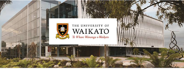 International Excellence Scholarships at University of Waikato, New Zealand, 2019