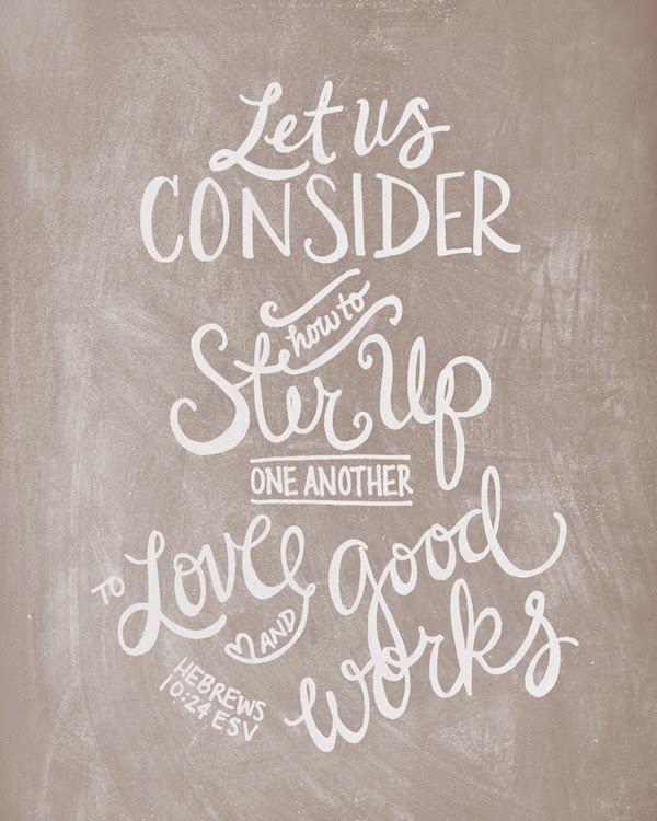 Let Us Consider {Wednesday's Words}