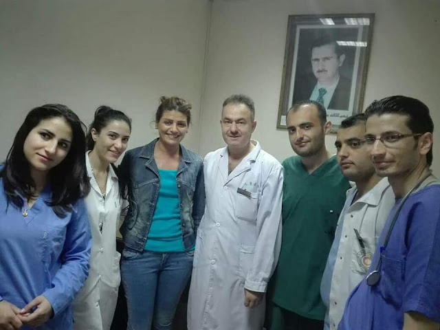 """""""الدكتور صالح علي اليوسف """" لأول مرة في سورية استئصال الغدة الدرقية التام بالجراحة التنظيرية بكادر وطني بامتياز"""