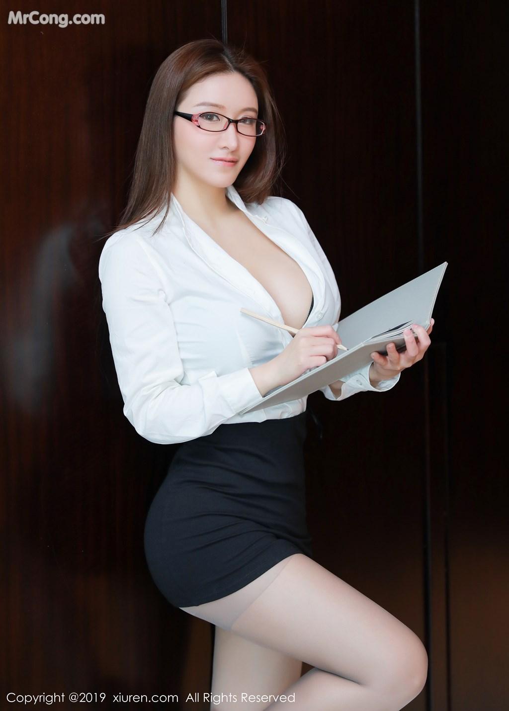 Image XIUREN-No.1457-Jenny-MrCong.com-003 in post XIUREN No.1457: 任莹樱 Jenny (46 ảnh)