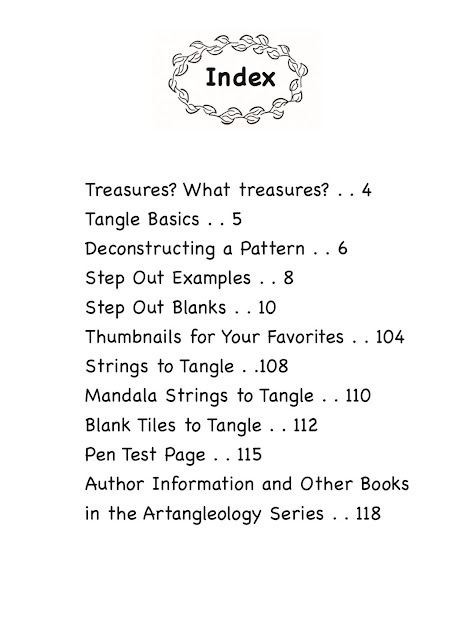 Alice Hendon, new release Tangle Starts Treasures overview