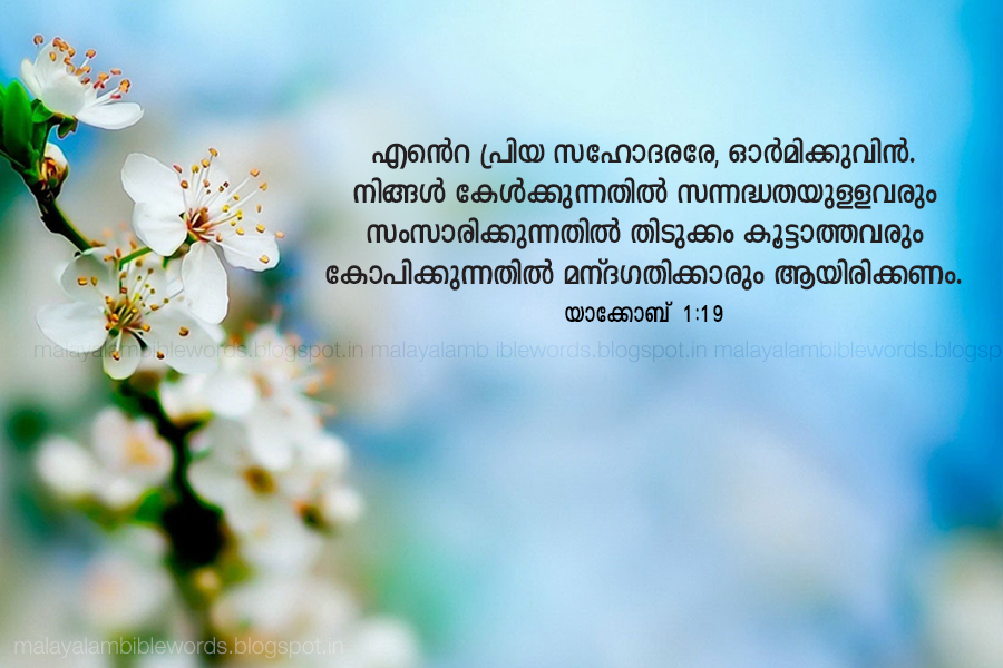 Malayalam Bible Words