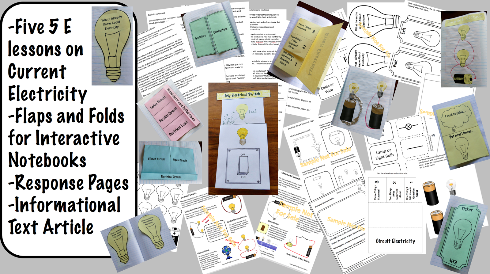 Teaching Science With Lynda About Electricity And Circuits Fun Activity You Can Have This Lesson An Entire Unit On Circuit From My Store Hcircuit Stem Electrical
