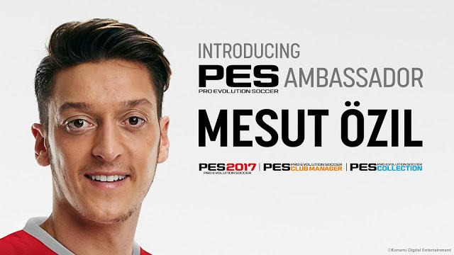 de7b2a82989cc  PES 2017  Com Ozil como embaixador