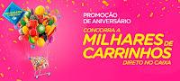 Aniversário Carrefour 'Concorra milhares de carrinhos de compra direto no caixa'