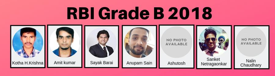 RBI Grade B 2018 Results