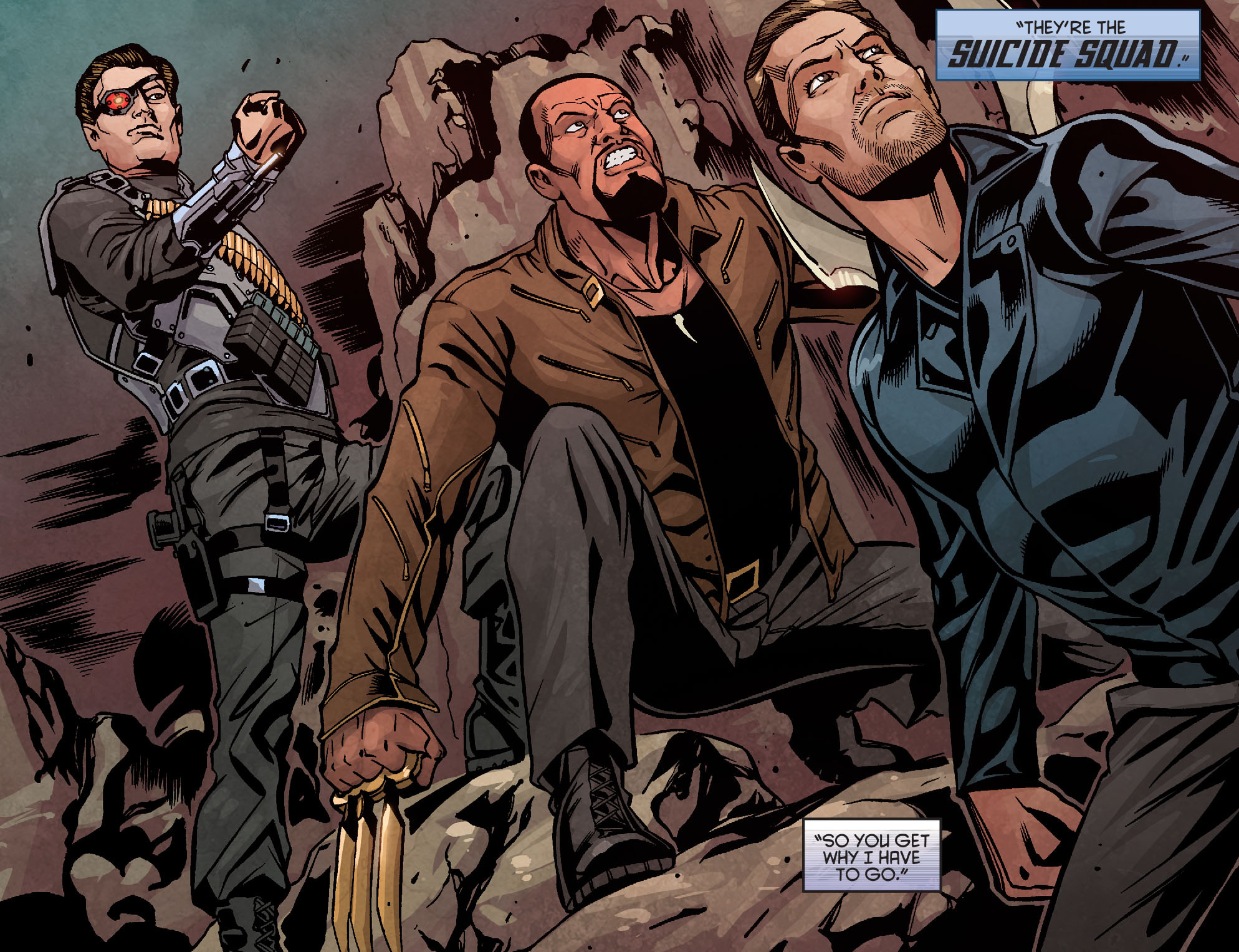Read online Arrow: Season 2.5 [I] comic -  Issue #10 - 12