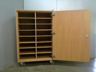 Ofimobles mobiliario escolar armario movil para - Muebles para almacenar ...