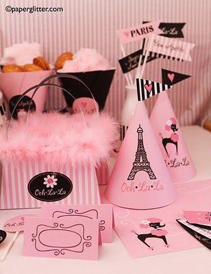 Party a tema Parigi