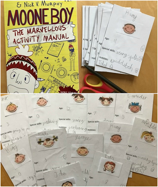 Book review - Marvellous Moone Boy and the Marvellous Activity Manual