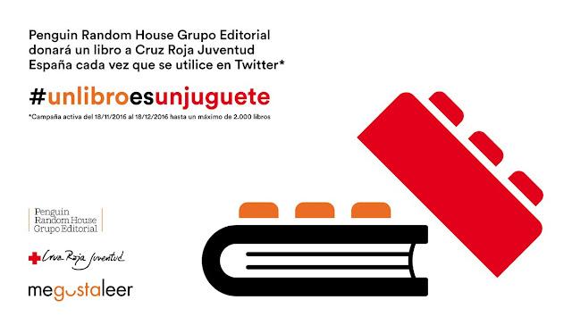 Desde la BUM apoyamos la campaña #unlibroesunjuguete.