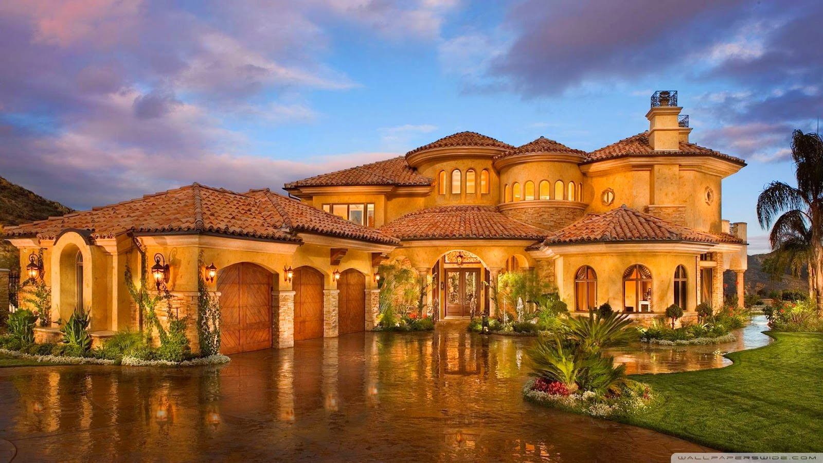 Dhdwallpapers - Download Hd Wallpapers: Free Download Luxury House Hd Wallpapers