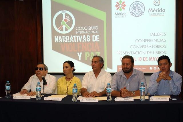 """Anuncian el Coloquio Internacional """"Narrativas de violencia y paz"""""""