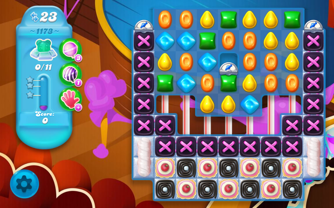Candy Crush Soda Saga level 1173