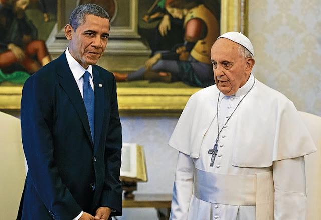 Obama pidió a los republicanos seguir al Papa 20150925_1029_internacionales_obama-pope-protocol_cava.jpg_1853027552